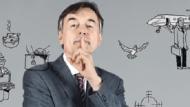 Der Headhunter-Experte: Rainer Steppan arbeitet als Anwalt und Journalist in Düsseldorf und ist Autor mehrere Bücher über die Personalberaterbrache - in der jährlich rund 1,5 Milliarden Euro verdient werden.
