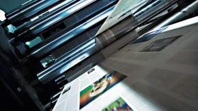 Die Rotation in der Druckerei Mörfelden