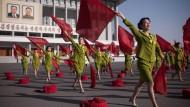 Nordkoreaner zeigen sich unbeeindruckt