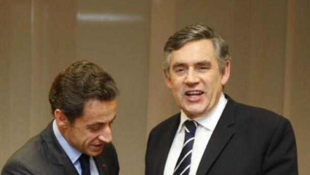 Brown und Sarkozy wollen Bonus-Steuer für alle
