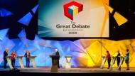 Hitzige Brexit-Debatte im britischen Fernsehen
