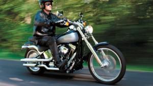 Sternfahrt zur Hundertjahrfeier von Harley-Davidson