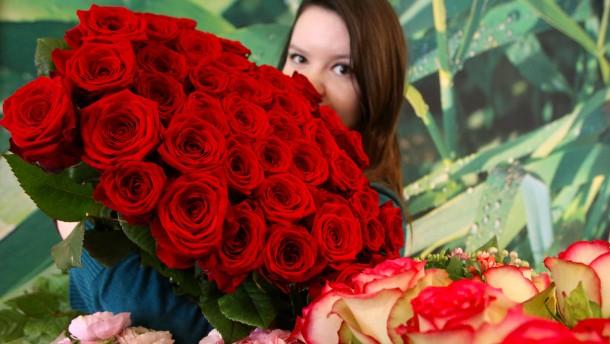 Februar: Der Valentinstag In Deutschland: Damals Und Heute   Gesellschaft    FAZ