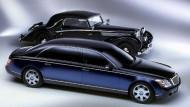Von 1921 bis 1941 fuhren die ersten Maybachs. Daimler hat die Marke 2002 wiederbelebt.