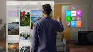 Microsoft präsentiert Windows 10 und HoloLens
