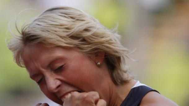 Christina Obergföll wirft Europarekord