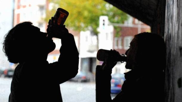 Alkohol ist Lieblingsdroge bei Frankfurter Schülern
