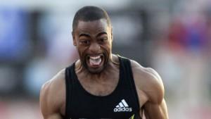 Tyson Gay läuft Gegenwind-Weltrekord