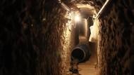 Unterirdischer Schmuggler-Tunnel nach Amerika entdeckt