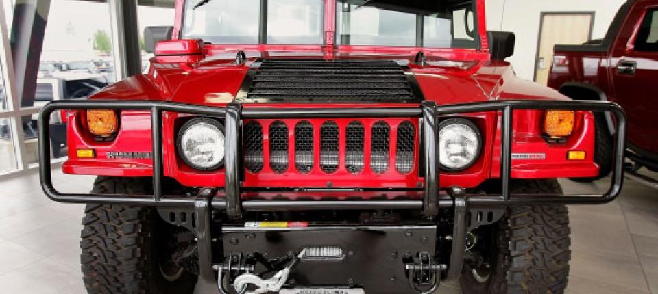 Automarke Hummer Letzter Vorhang Für Das Protzmobil Unternehmen Faz