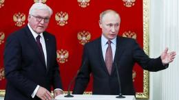 Steinmeier trifft Putin