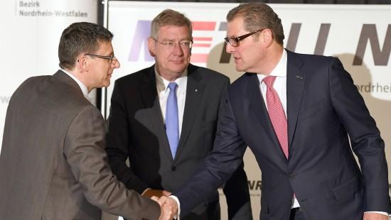 Metall-Tarifparteien einigen sich in NRW auf Pilotabschluss