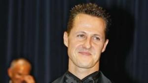 Zum Abschied Gold für Michael Schumacher