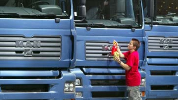 Der Coup mit den Trucks