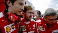 Vettel: Wollen mit Ferrari zweite Kraft werden