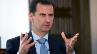 Assad schlägt Modell für neue Regierung vor