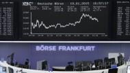 Nervosität an der Börse
