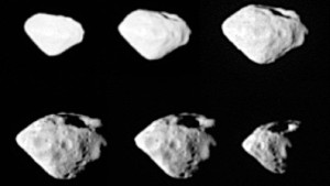 Kometensonde Rosetta begegnet Asteroid Steins