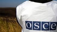 OSZE-Beobachter notieren Schäden