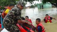 Viele Tote durch Überschwemmungen in Nepal