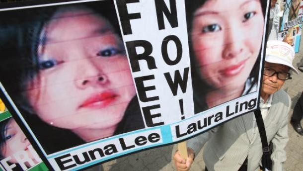 Amerikanische Journalistinnen vor Gericht