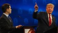 Republikaner messen sich bei TV-Duell
