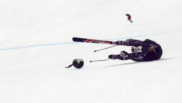 Ski-Fliegen mit Horrorpotential