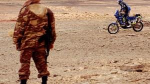Angst vor Banditen bremst Wüstenrallye aus