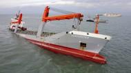 Schiffsunglück vor Belgien