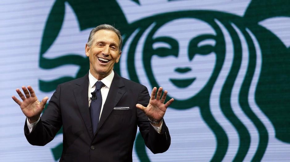 Will der Ex-Starbucks-Chef Trump ablösen?