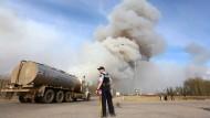Heftige Waldbrände in Kanada