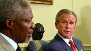 Bush stellt eingeschränkten Einsatz in Aussicht