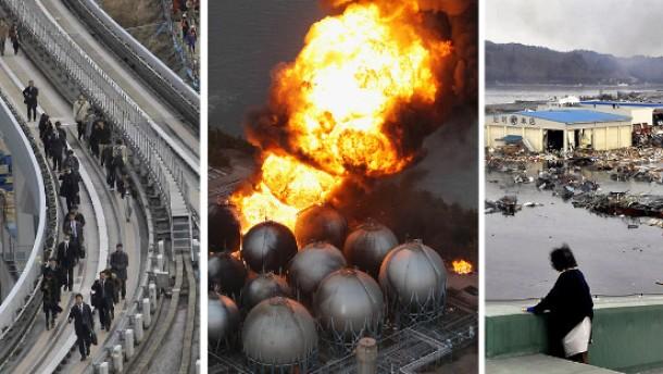 dapd-Redaktionshinweis: Die wichtigsten dapd-Bilder vom Erdbeben in Japan