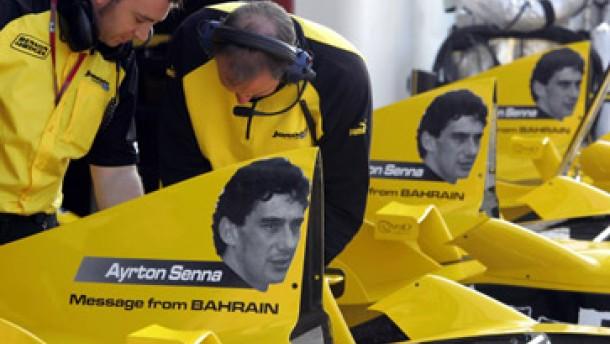 Alles kreist um Ayrton Senna