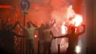 Verhaftungen nach Randalen von englischen Hooligans