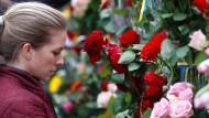 Trauer um Opfer von Stockholm