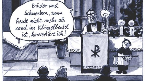 Karikatur / Greser und Lenz Terror / Die Terrorgefahr ist noch nicht gebannt