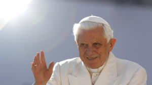 Papst Benedikt XVI. kommt 2011 nach Deutschland