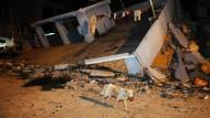 Starkes Erdbeben in Ecuador
