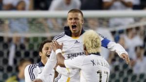 Erstes Tor von Beckham für Galaxy