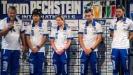 Claudia Pechstein stellt neue Trainingsgruppe vor
