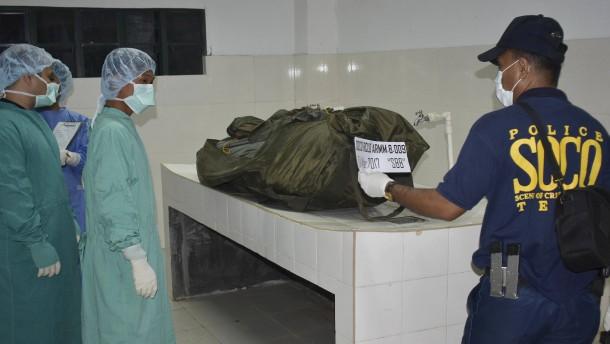Leiche des ermordeten Deutschen gefunden