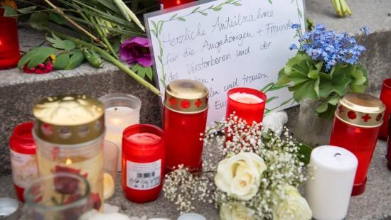 Grafing gedenkt Opfern der Messerattacke