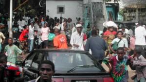 Rebellen verkünden Waffenruhe in Monrovia