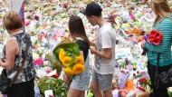 Sydney gedenkt der Opfer