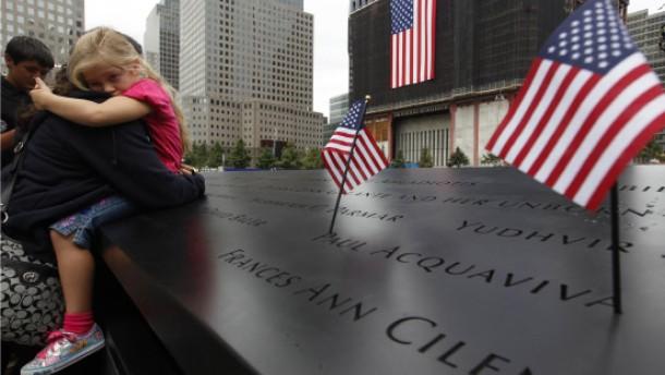 Amerika gedenkt der Terroropfer