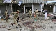Dutzende Menschen bei Attentat in Afghanistan gestorben