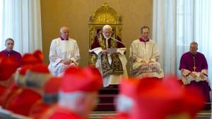 Papst Benedikt XVI. tritt am 28. Februar zurück