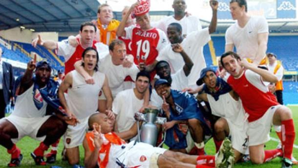 Jens Lehmann mit Arsenal London englischer Meister