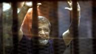 Ex-Präsident Mursi zum Tode verurteilt